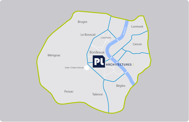 PL architectures : Plan Bordeaux