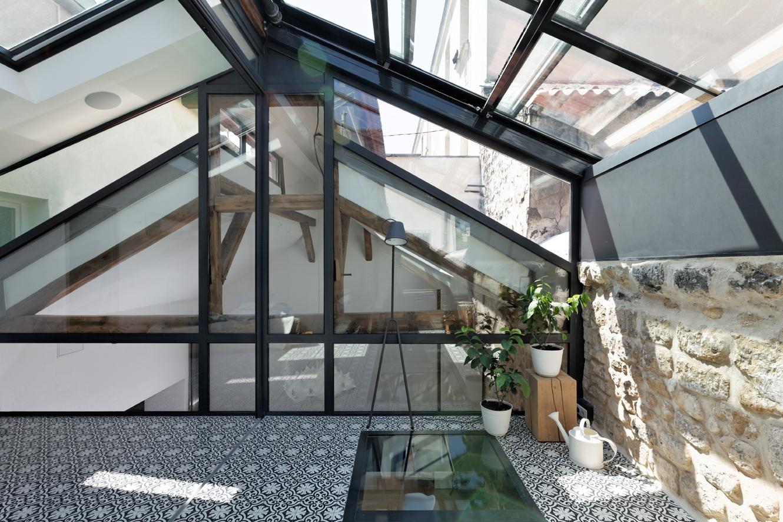 Vue De Cote Depuis La Terrasse Decouvrable Pl Architectures