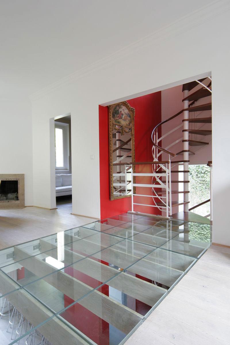 Escalier Dans Un Salon pl-architectures-bordeaux-rehabilitation-sevres-salon