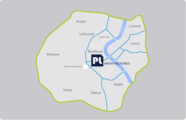 PL architectures : Plan Bordeaux
